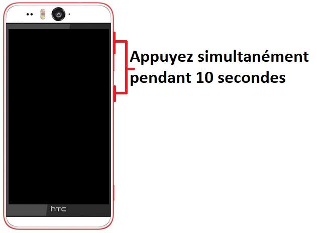 Allumer HTC Desire Eye