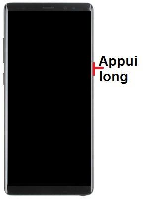 Allumer Samsung Note 8