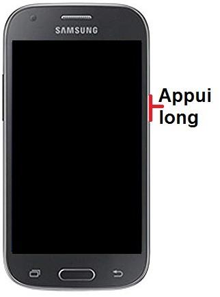Allumer Samsung ACE 4