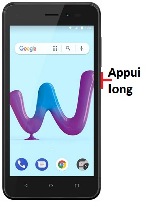 éteindre Wiko Sunny 3