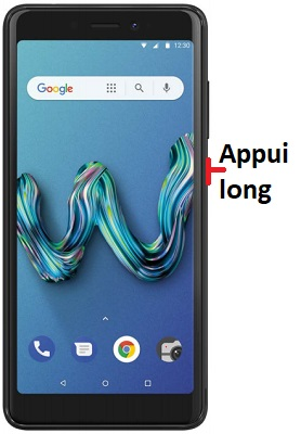 éteindre Wiko Tommy 3