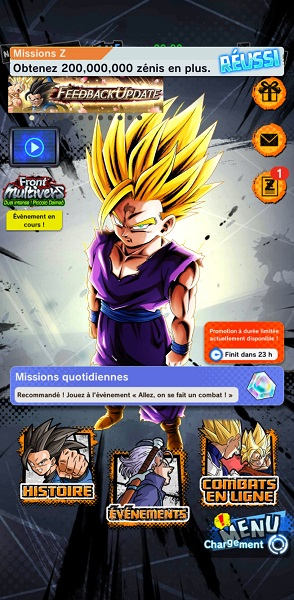 meilleurs jeux mobiles DB legends