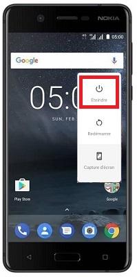 éteindre Nokia 5