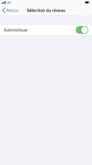 Réseaux iPhone SE 2020