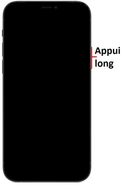Allumer iPhone 12