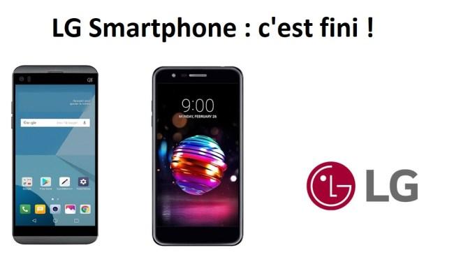 Fin smartphones LG