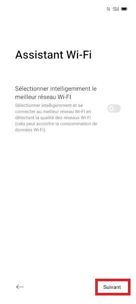 Activation oppo android 10