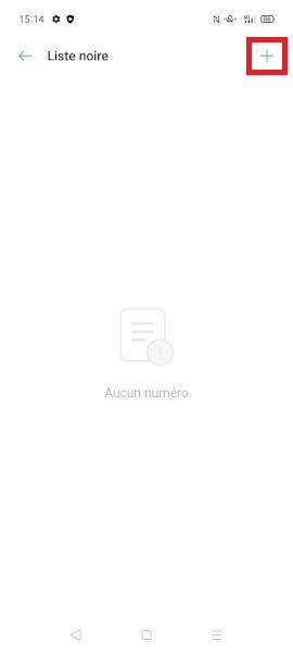bloquer numéro Oppo Find X2