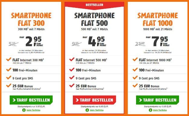 2016-08-01 22_28_33-klarmobil Smartphone Flat im Telekom-Netz ab 2,95 € mtl.