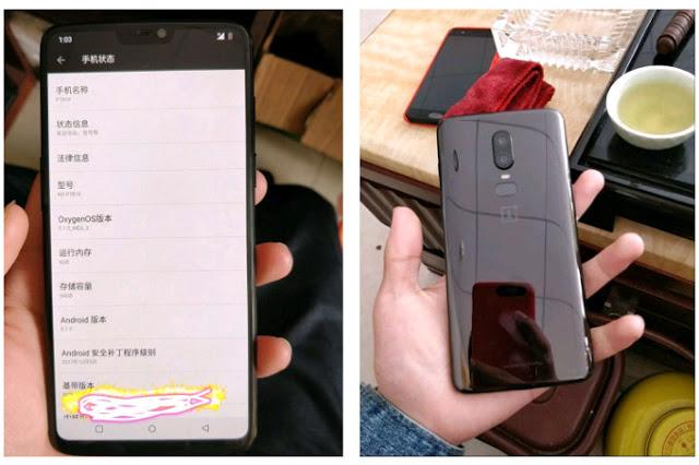 Kan det här vara OnePlus 6?