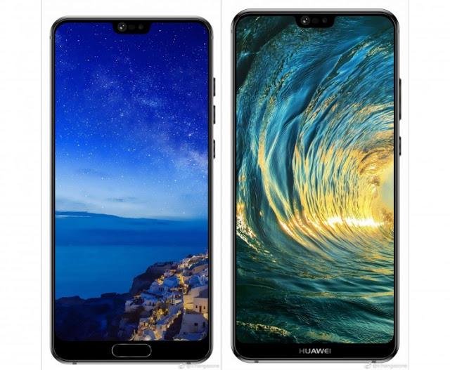 Pressbild på Huawei P20 och P20 Plus