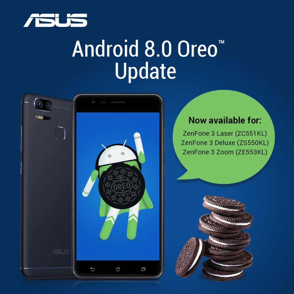ASUS berättar att man kommer uppdatera ett gäng telefoner till Android 8.0 inom kort