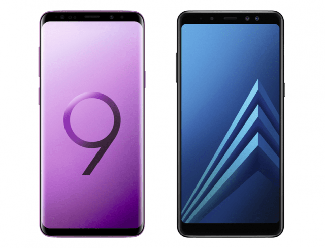 Samsung presenterar Enterprise-versioner av Galaxy S9 och Galaxy A8