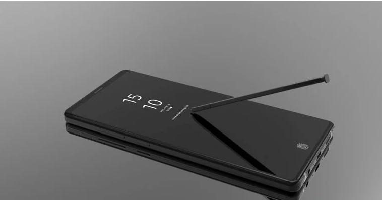 Konceptbilder visar vad som kan vara Samsung Galaxy Note 9