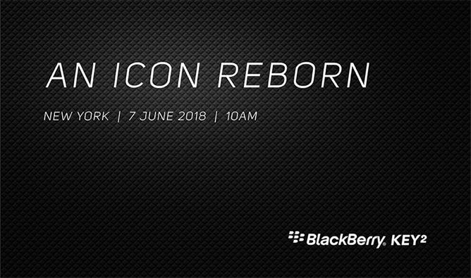 BlackBerry KEY2 presenteras 7 juni – har fysiskt tangentbord