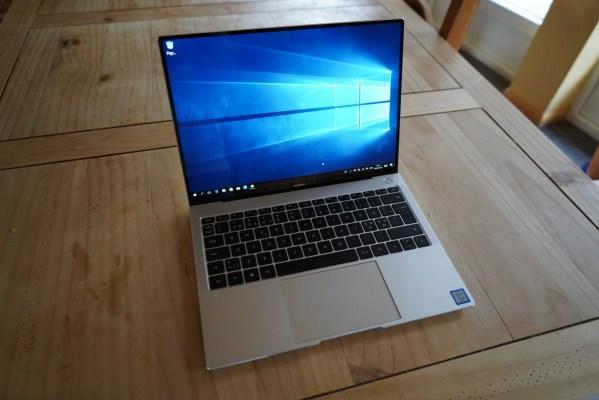 En första titt på Huawei Matebook X Pro