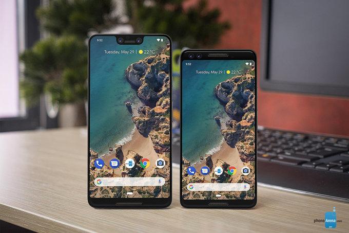 OnLeaks: så stora skärmar får Pixel 3 och Pixel 3 XL