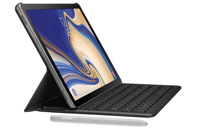 Samsung Galaxy Tab S4 saknar en fingeravtrycksläsare