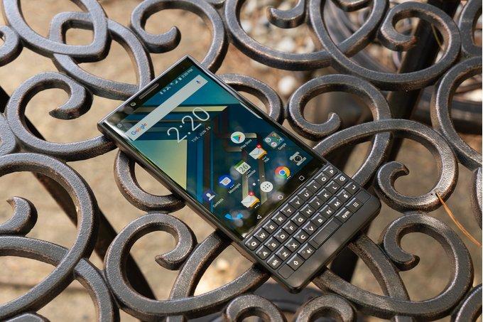 Är det här BlackBerry KEY2 Lite?