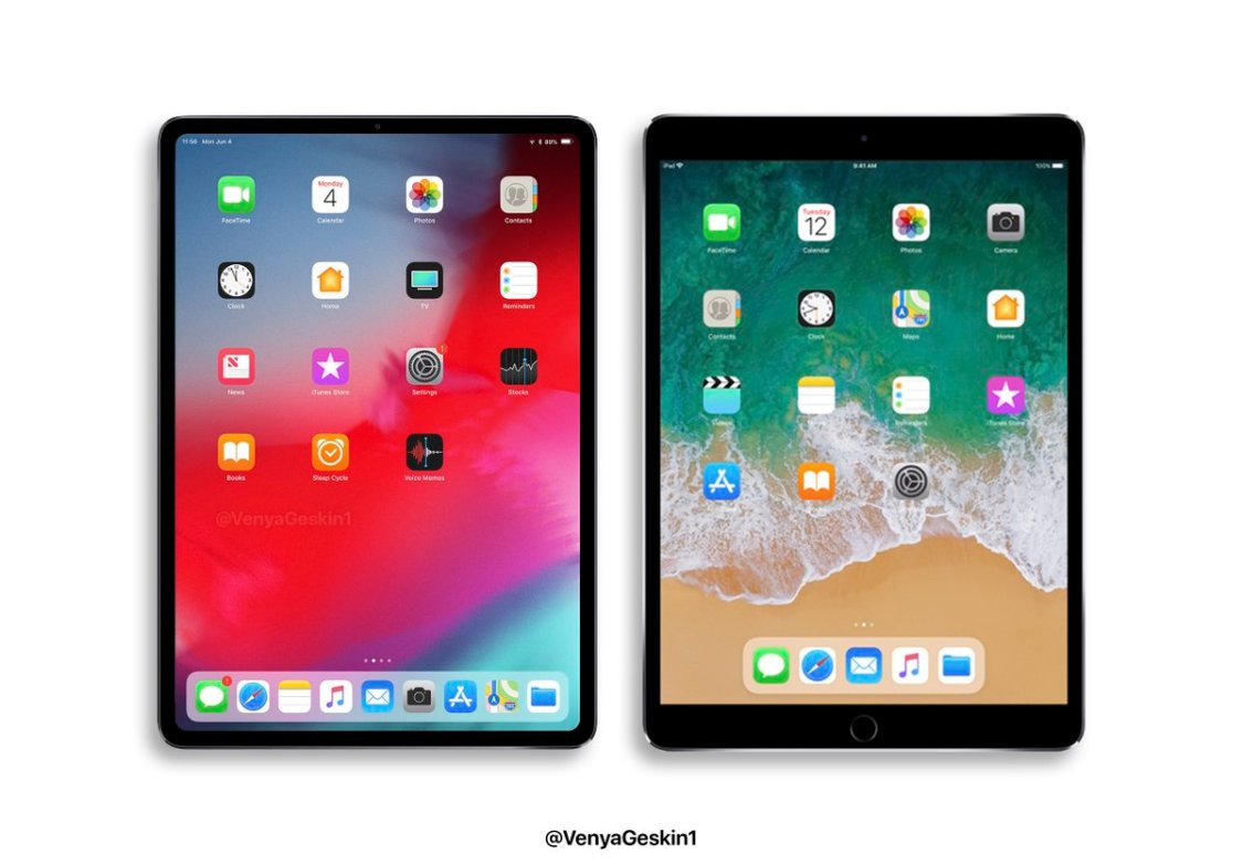 Benjamin Geskin: iPad Pro 11″ blir lika stor som iPad 10,5″