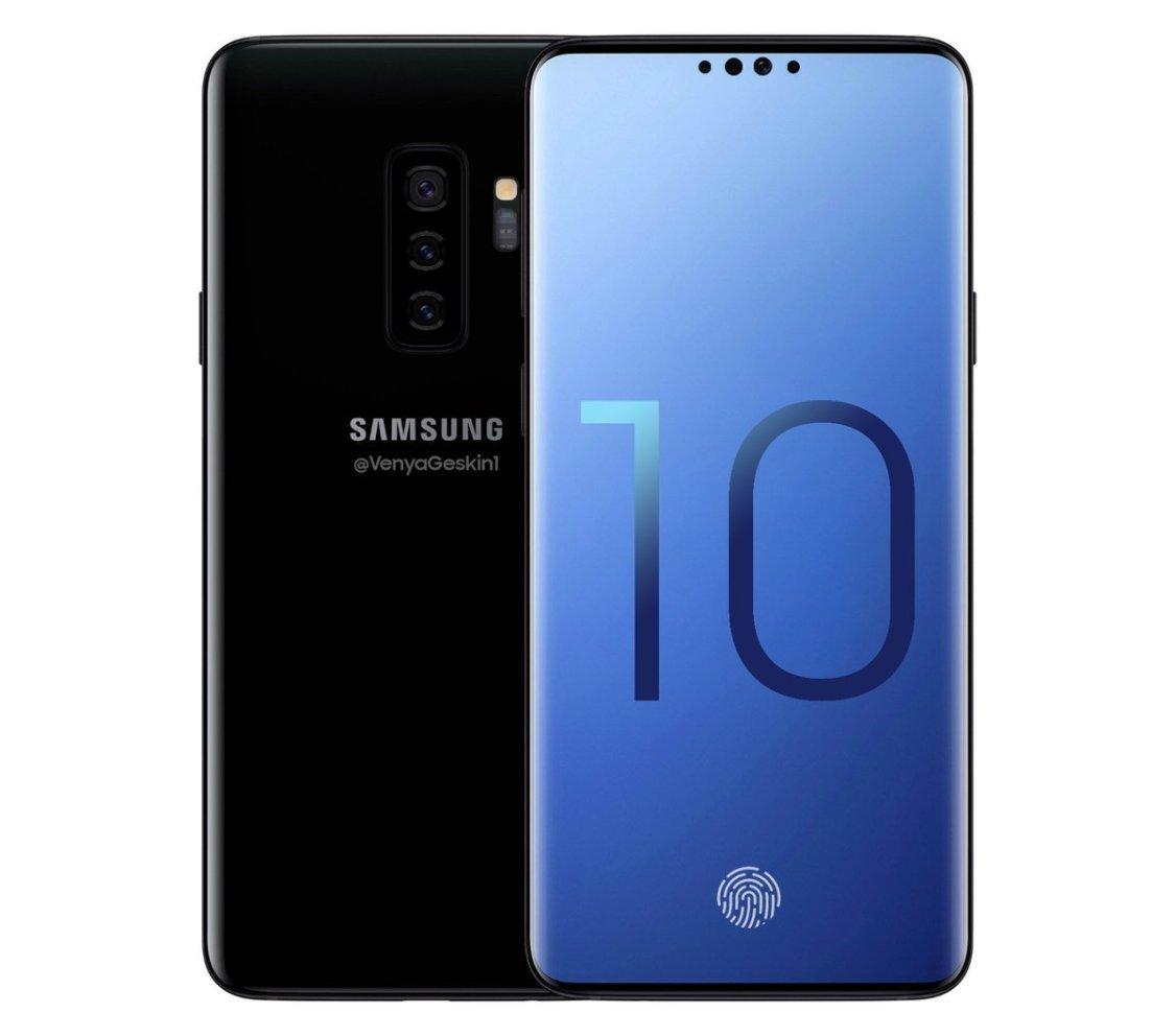 Ben Geskin: det här kan vara Samsung Galaxy S10+