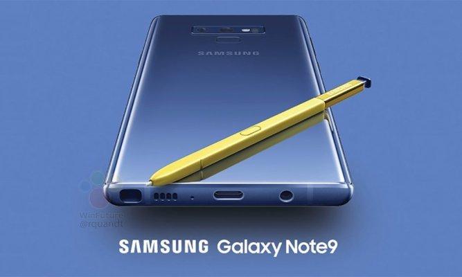 Fullständig specifikationslista för Samsung Galaxy Note 9