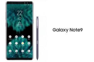 Samsung publicerar supportsida för Galaxy Note 9