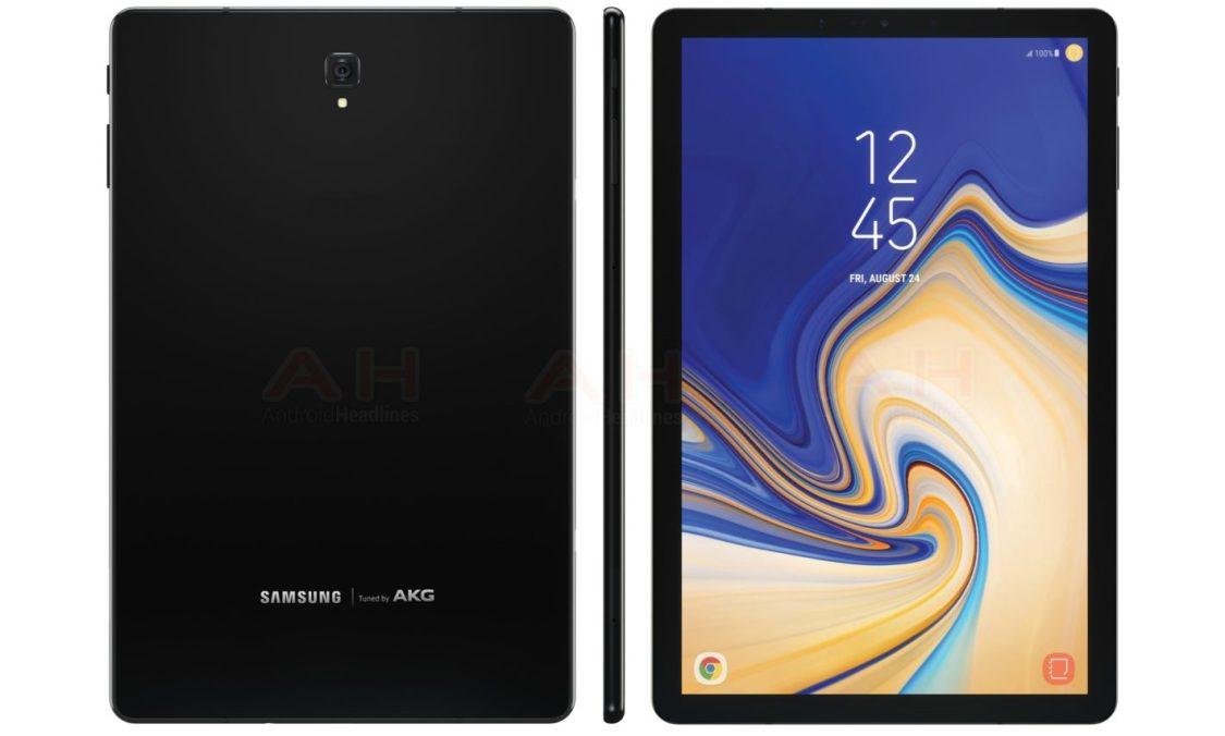 Samsung Galaxy Tab S4 ser ut att bli utan fysisk hemknapp