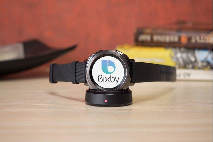 Samsung Gear S4 kan bli första klockan med Bixby