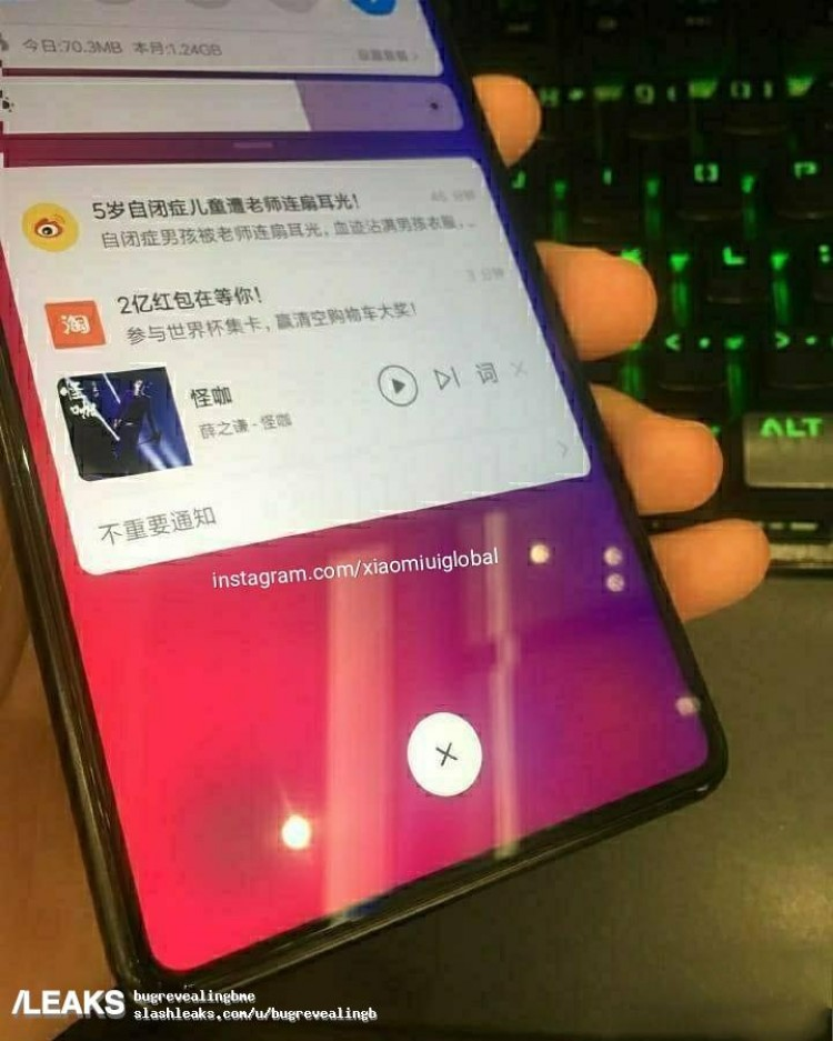Nya bilder på Xiaomi Mi Mix 3