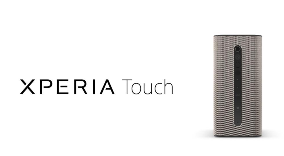 Pekskärmsprojektorn Xperia Touch uppdateras till Android 8.0 Oreo