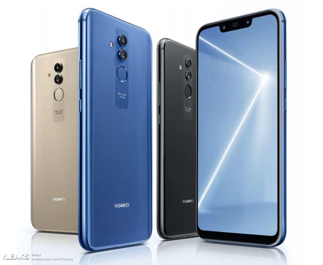 Huawei Mate 20 Lite presenteras nästa vecka