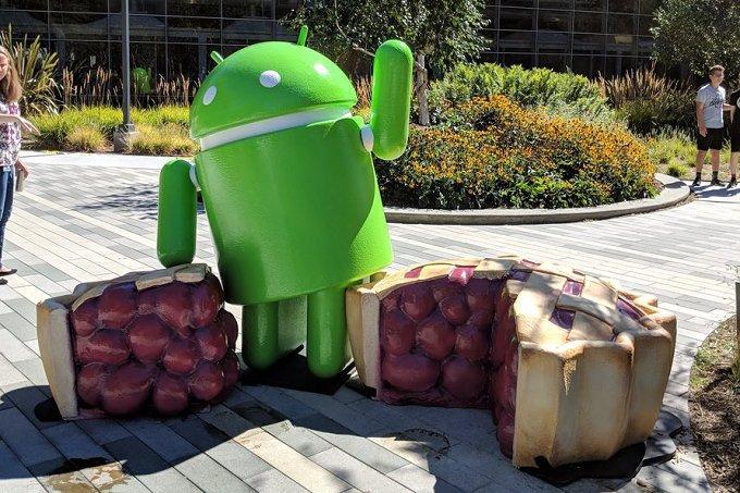 Tim Schofield tar en titt på Android 9 Pie