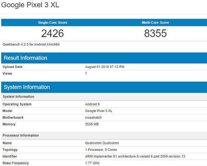 Pixel-3-XL-benchmark