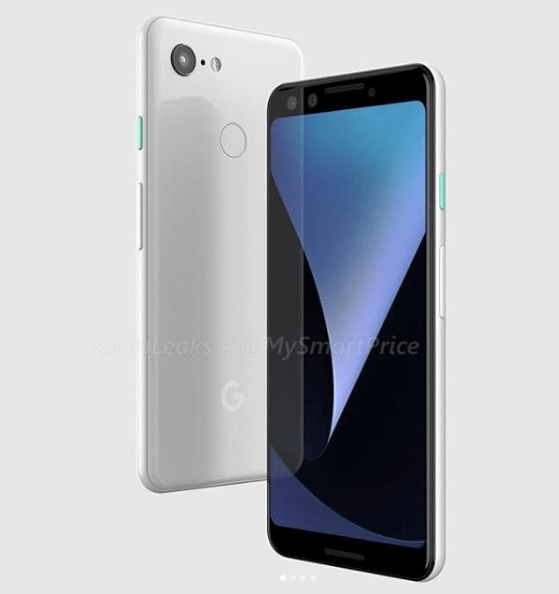 Avslöjat: Google Pixel 3 har dubbla främre kameror