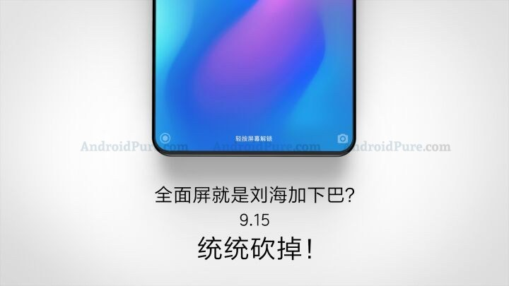 Nya bilder på Xiaomi Mi Mix 3 visar designförändringar