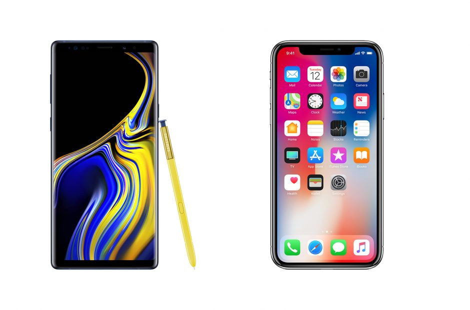 SuperSaf jämför Samsung Galaxy Note 9 med iPhone X