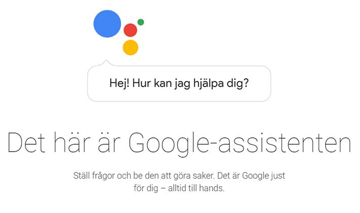 Google verkar skita i att skicka ut Assistent på svenska!