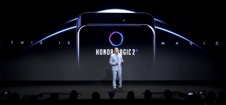 Honor Magic 2 visas upp – har OPPO Find X-insperad design