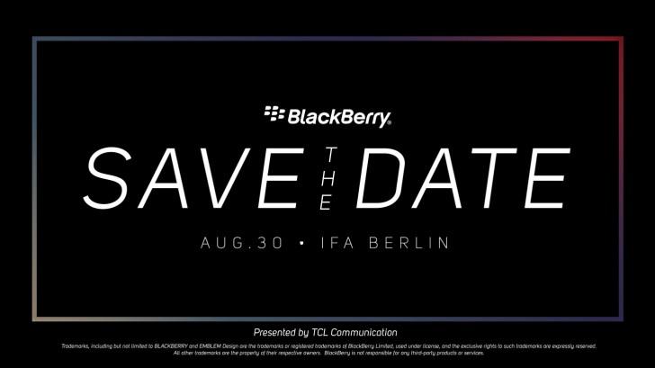 BlackBerry bjuder in till IFA-event