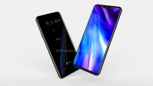 LG V40 ThinQ dyker upp på bilder