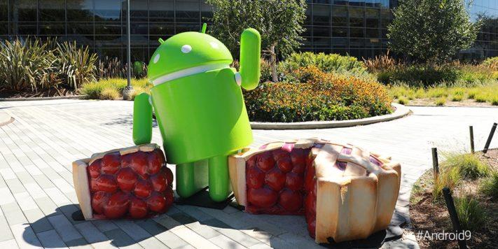 Android 9 Pie syns inte till i senaste statistiken