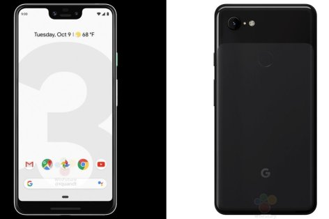 Google-Pixel-3-and-Pixel-3-XL-show-up-in-both-black-and-white-in-really-official-renders