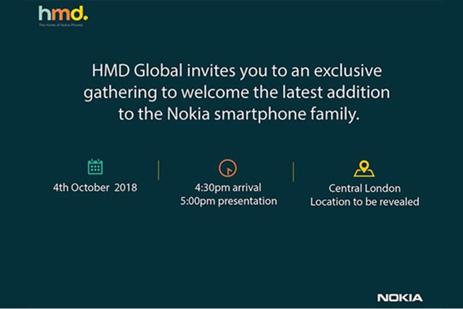 Nokia 9 kan presenteras 4:e oktober