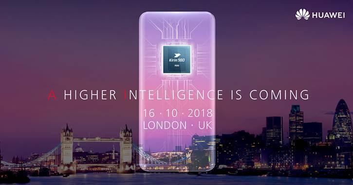 Huawei släpper ny teaser inför Mate 20-eventet