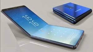 Ny video visar hur Samsung Galaxy F1 kommer att vikas ut