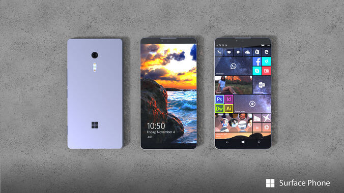 Kan Microsoft Surface Phone visas upp 2 oktober?