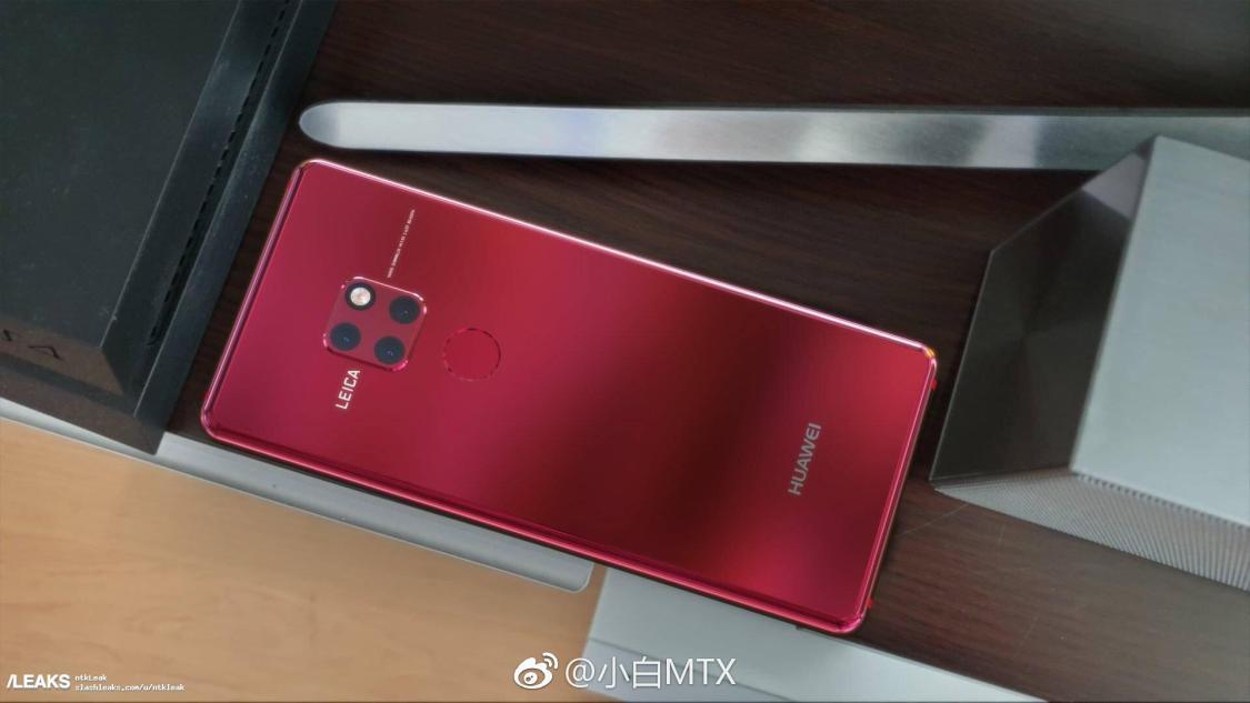 Här är Huawei Mate 20 Pro i rött