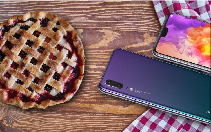 Huawei P20-serien erhåller betan av Android 9 Pie