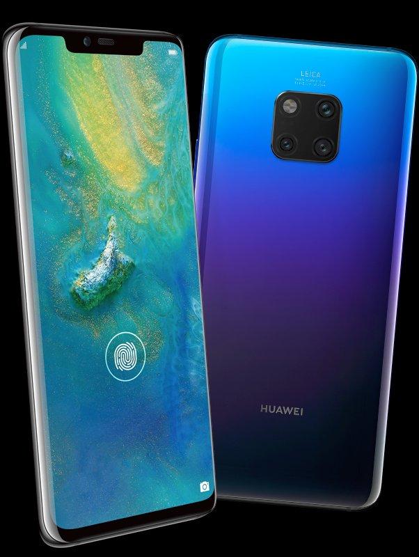 Ny bild publiceras på Huawei Mate 20 Pro – bekräftar fingeravtrycksläsaren under displayen